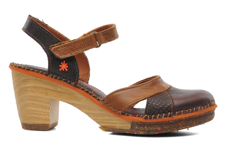 Sandales et nu-pieds Art Amsterdam 313 Marron vue derrière