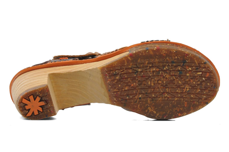 Sandales et nu-pieds Art Amsterdam 313 Marron vue haut