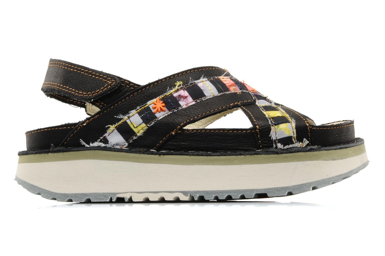 Sandales et nu-pieds Art Bio 028 Noir vue derrière
