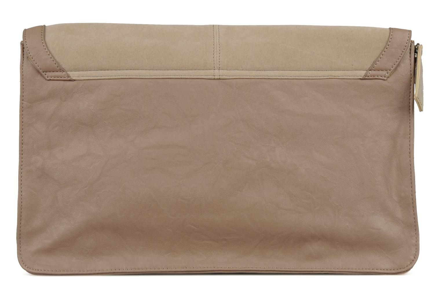 Vintage clutch Taupe