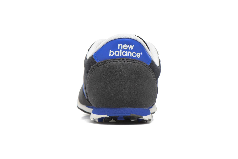 Baskets New Balance KE410 Noir vue droite