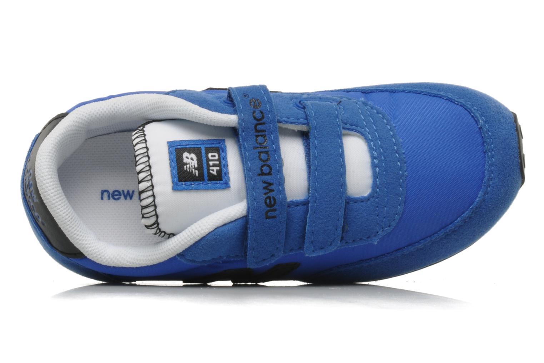 Baskets New Balance KE410 Bleu vue gauche