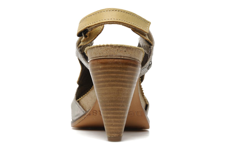 Sandales et nu-pieds Neosens Rome 420 Beige vue droite