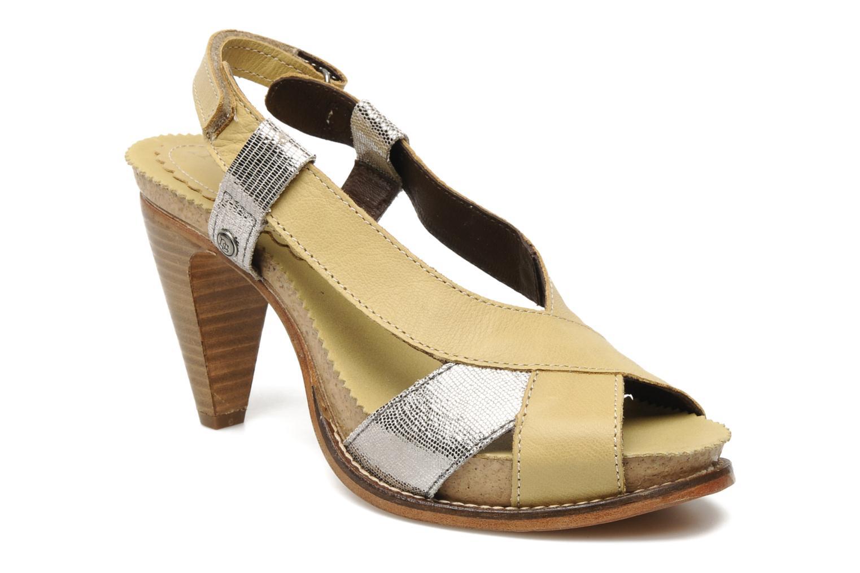 Sandales et nu-pieds Neosens Rome 420 Beige vue détail/paire