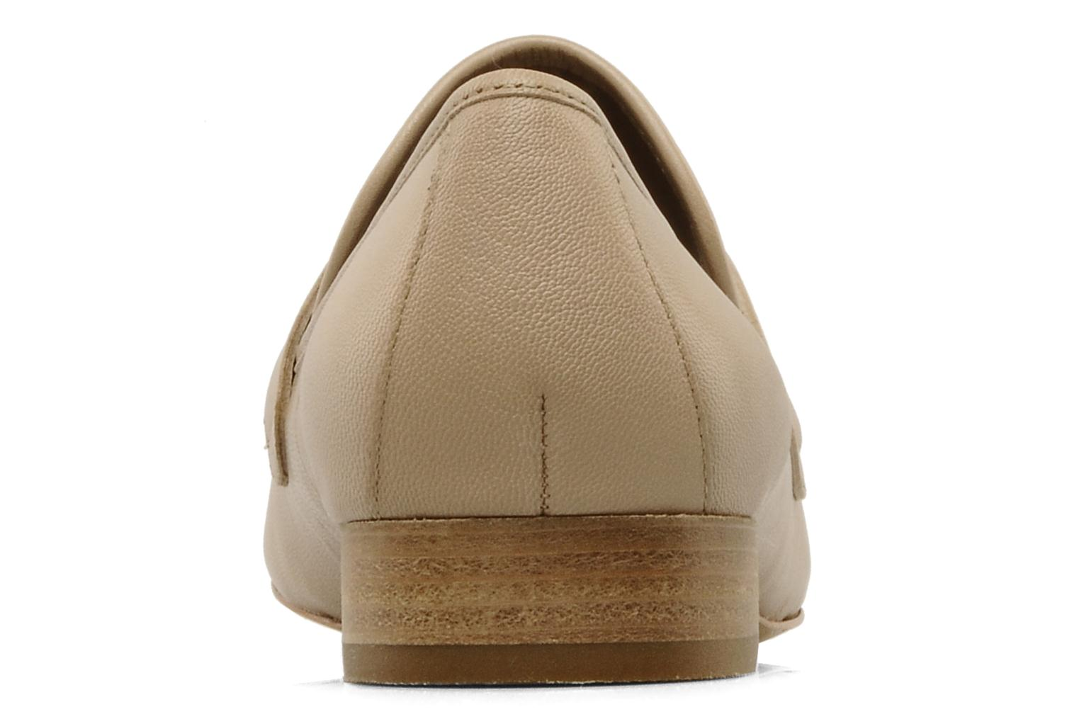 Loafers Belle Eddy Beige view from the right