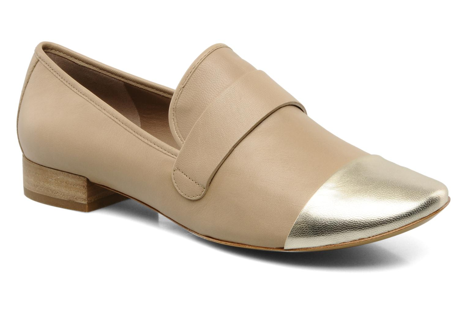 Loafers Belle Eddy Beige detailed view/ Pair view