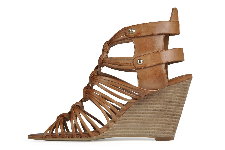 Sandali e scarpe aperte Guess Oblated Marrone immagine frontale