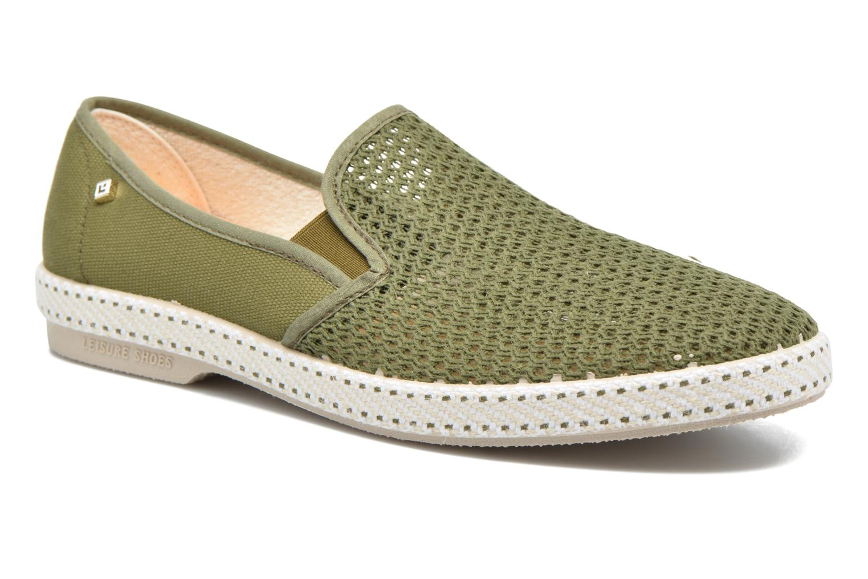 Loafers Rivieras 20°c m Grøn detaljeret billede af skoene