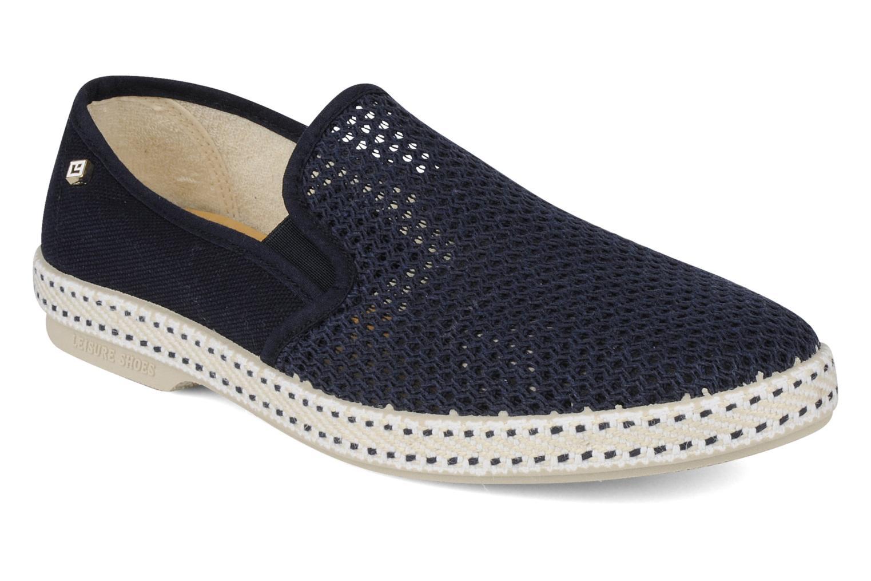 Loafers Rivieras 20°c m Blå detaljerad bild på paret
