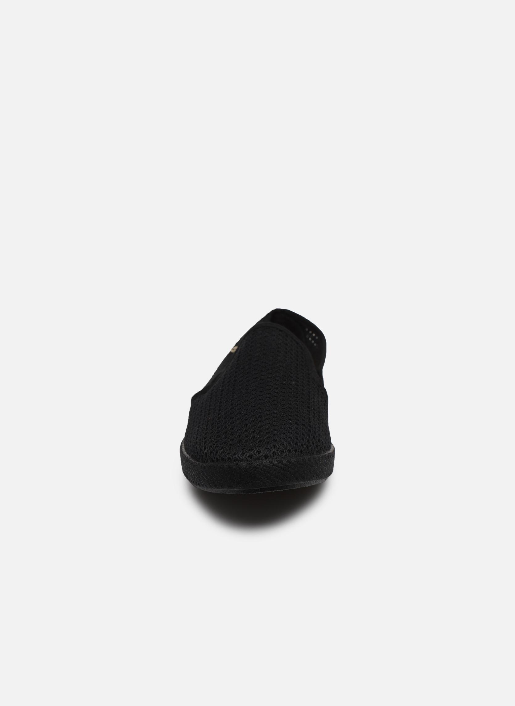 Slipper Rivieras 30°c m schwarz schuhe getragen