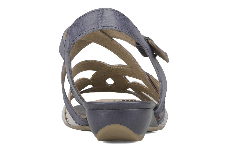 Jelyssa Navy comb leather