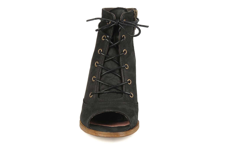 Sandales et nu-pieds H By Hudson Henshaw Noir vue portées chaussures