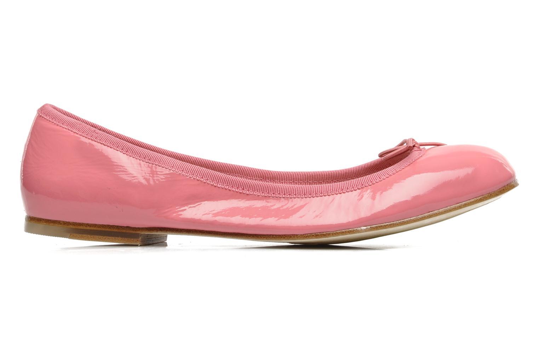 Ballerina's Bloch Patent ballerina Roze achterkant