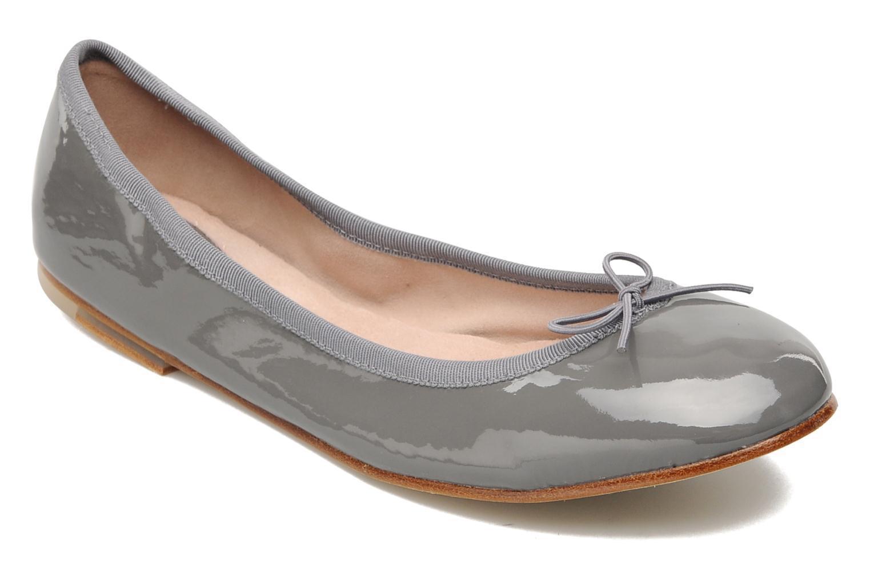 Patent ballerina stone (gris)