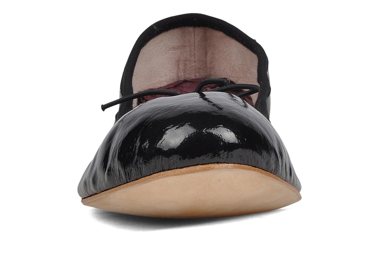 Patent ballerina Black