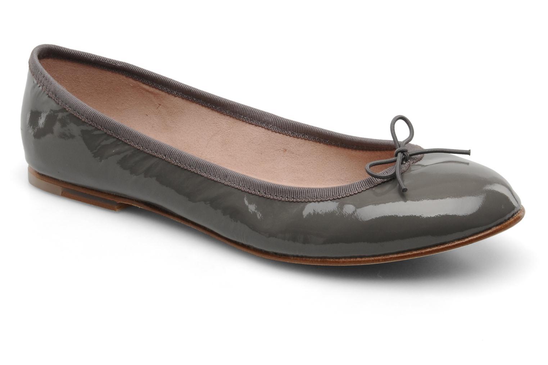 Patent ballerina steel(gris)