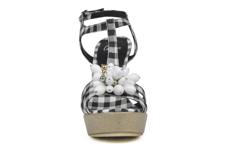 Sandali e scarpe aperte Castaner Missy Nero modello indossato