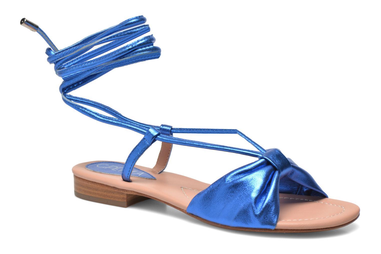 Sandales et nu-pieds C.Petula Rizzo Bleu vue détail/paire