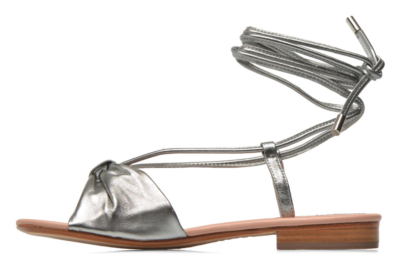 Sandalen C.Petula Rizzo Zilver voorkant