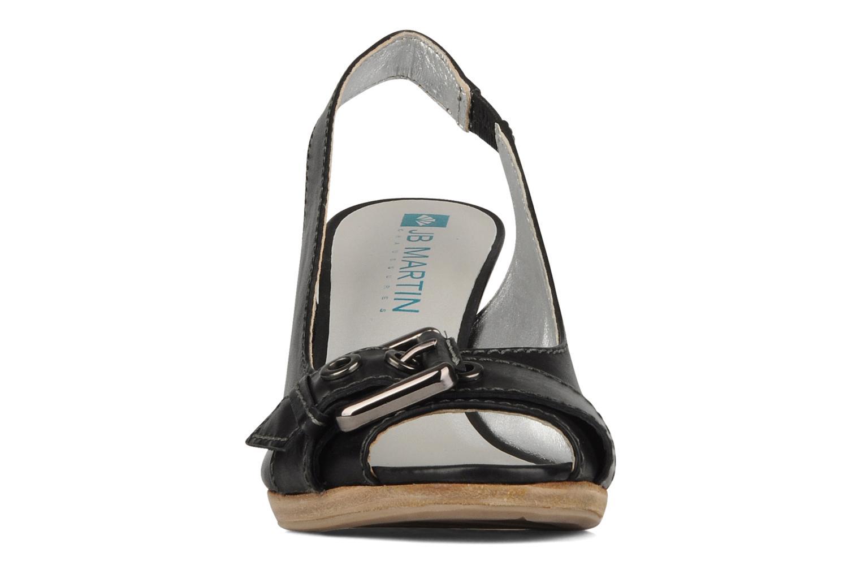 Sandales et nu-pieds JB MARTIN Otis Noir vue portées chaussures
