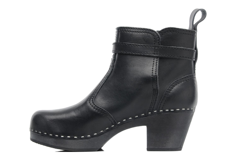 Boots en enkellaarsjes Swedish Hasbeens Jodhpur Zwart voorkant