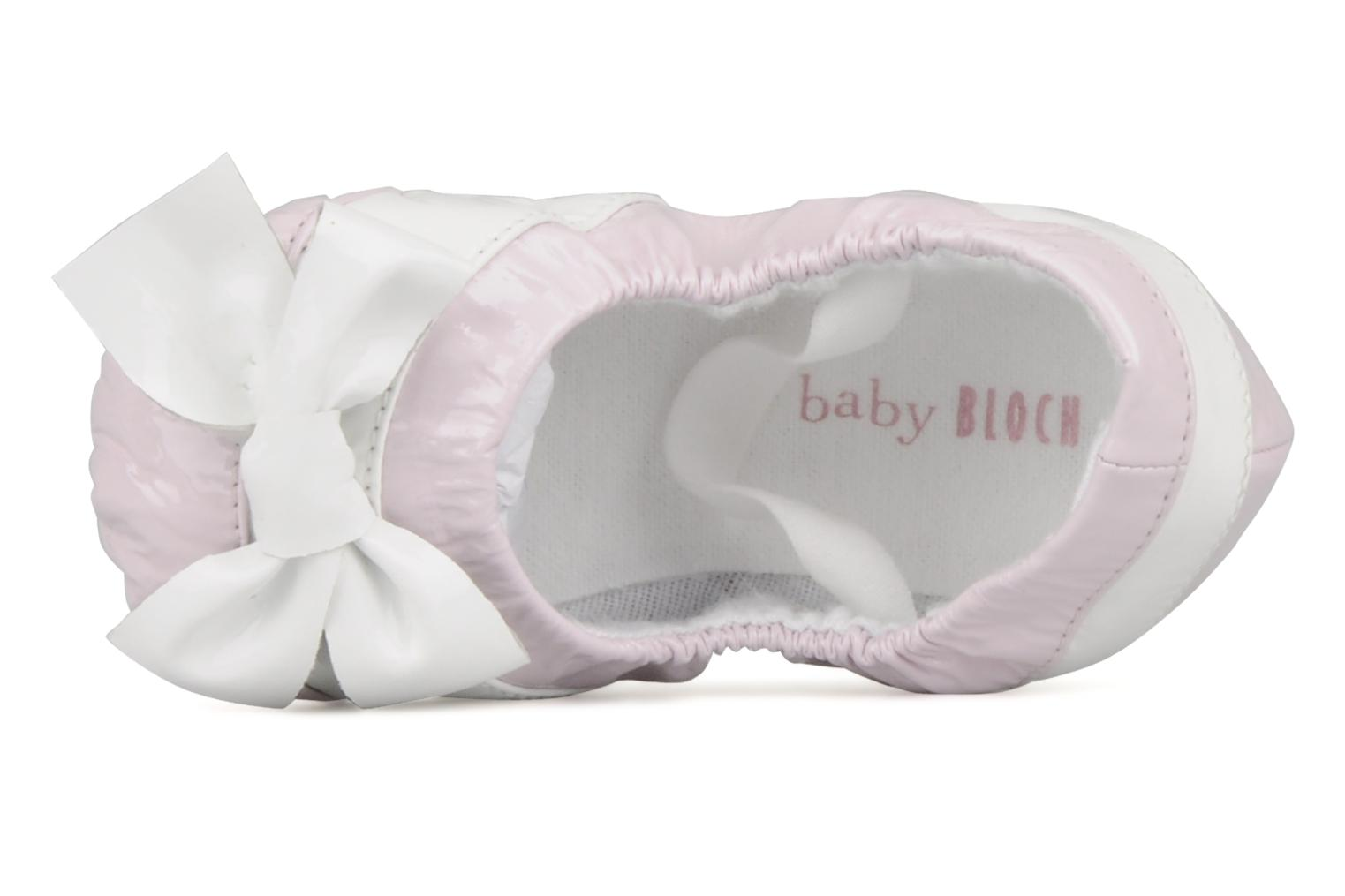 Slippers Bloch Louane Pink view from the left