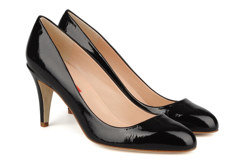 High heels Charles Jourdan Gabrielle 2 Black 3/4 view