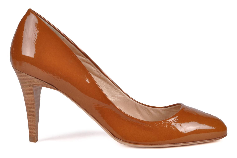 High heels Charles Jourdan Gabrielle 2 Brown back view