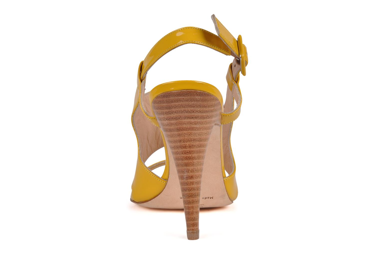 Sandali e scarpe aperte Charles Jourdan Pulpfiction Giallo immagine destra