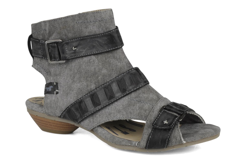 Sandalen Mustang shoes Xeba grau detaillierte ansicht/modell