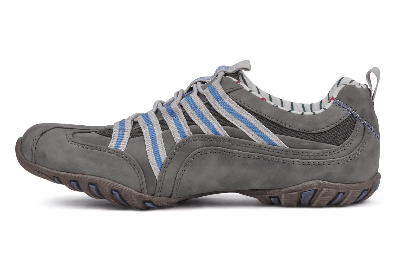 Sneaker Mustang shoes Laggi grau ansicht von vorne