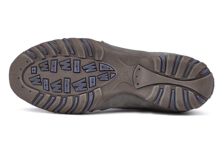 Sneaker Mustang shoes Laggi grau ansicht von oben