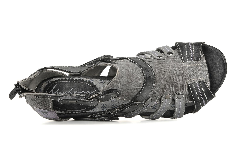 Sandalen Mustang shoes Garrano Grijs links