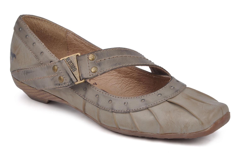 Ballerine Mustang shoes Tavda Grigio vedi dettaglio/paio