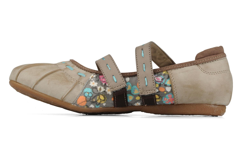Ballerina's Mustang shoes Sorraia Beige voorkant