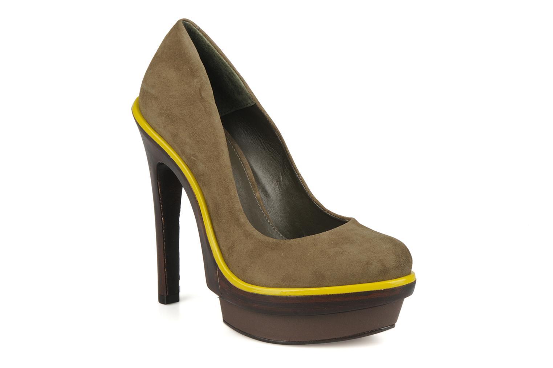 High heels Carvela Alpha Green detailed view/ Pair view