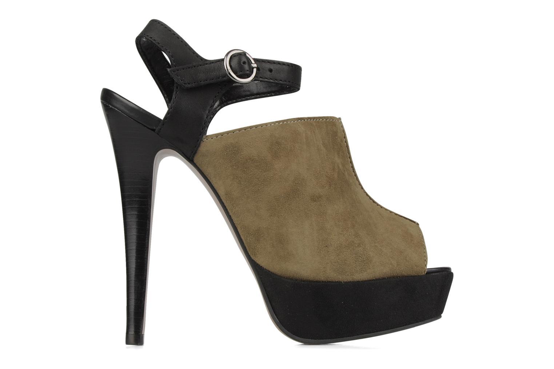 Sandales et nu-pieds Carvela Acoustic Vert vue derrière