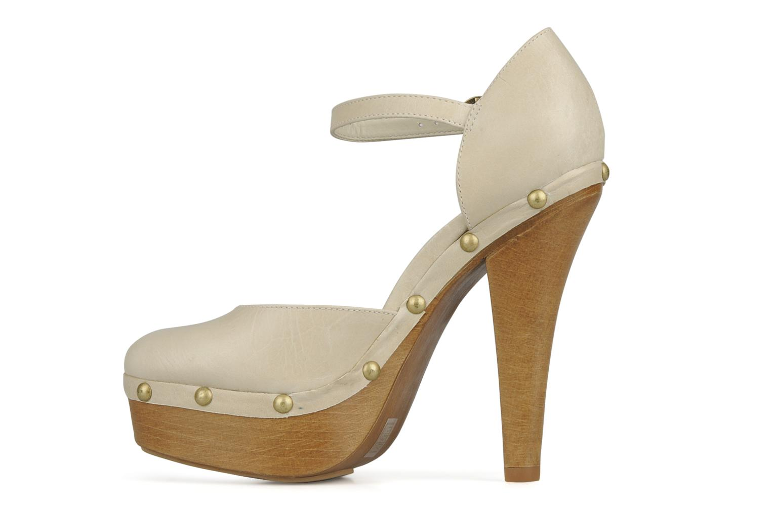 High heels Carvela Acorn Beige front view