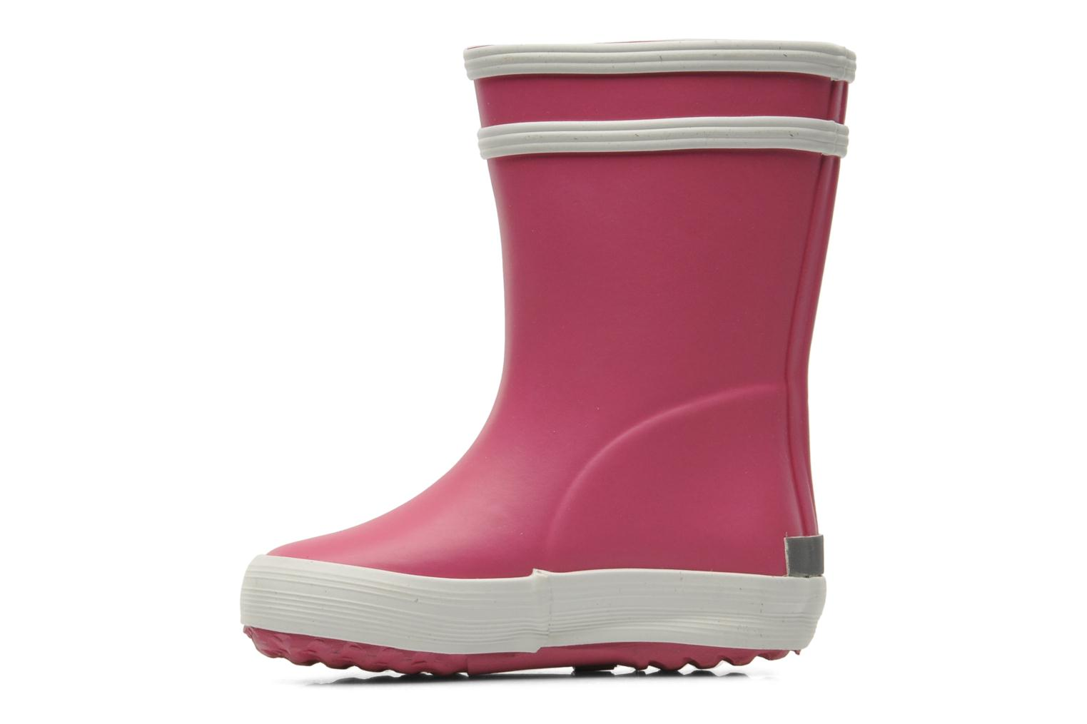 Boots & wellies Aigle Baby Flac Pink front view