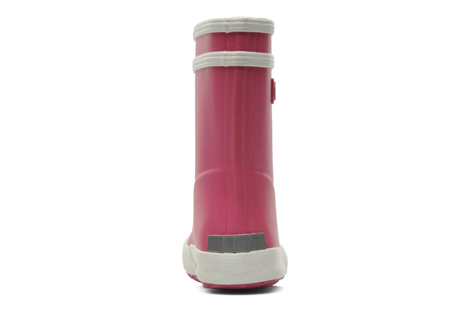 Boots & wellies Aigle Baby Flac Pink view from the right