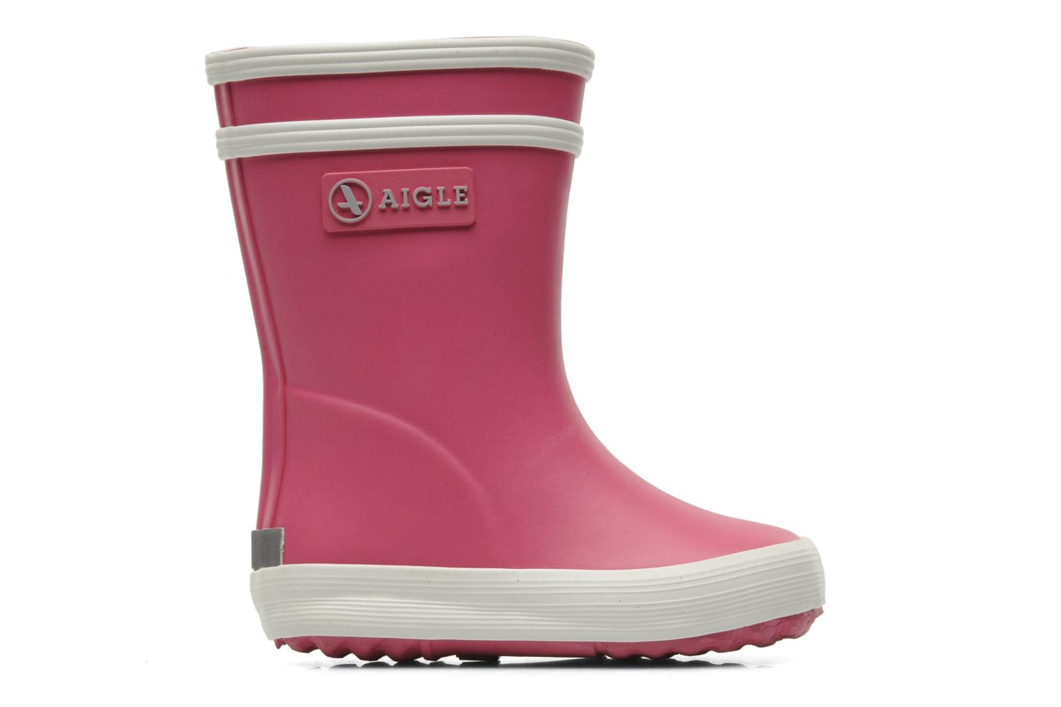 Boots & wellies Aigle Baby Flac Pink back view