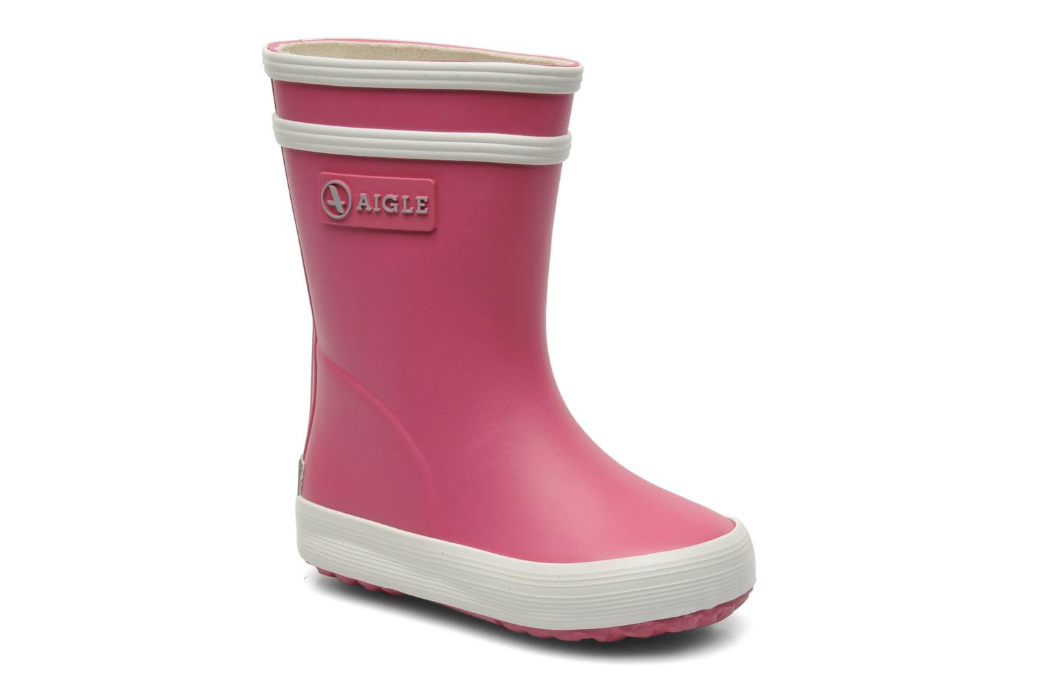 Boots & wellies Aigle Baby Flac Pink detailed view/ Pair view