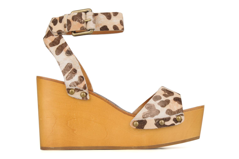 Sandales et nu-pieds Ash Vivian Multicolore vue derrière