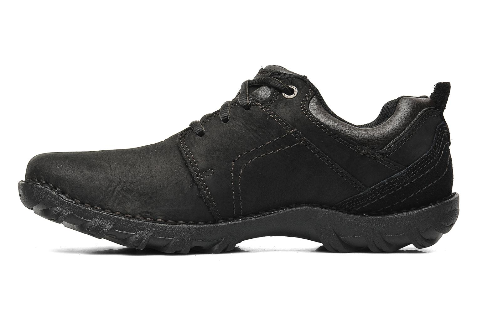 Lace-up shoes Caterpillar Emerge Black front view