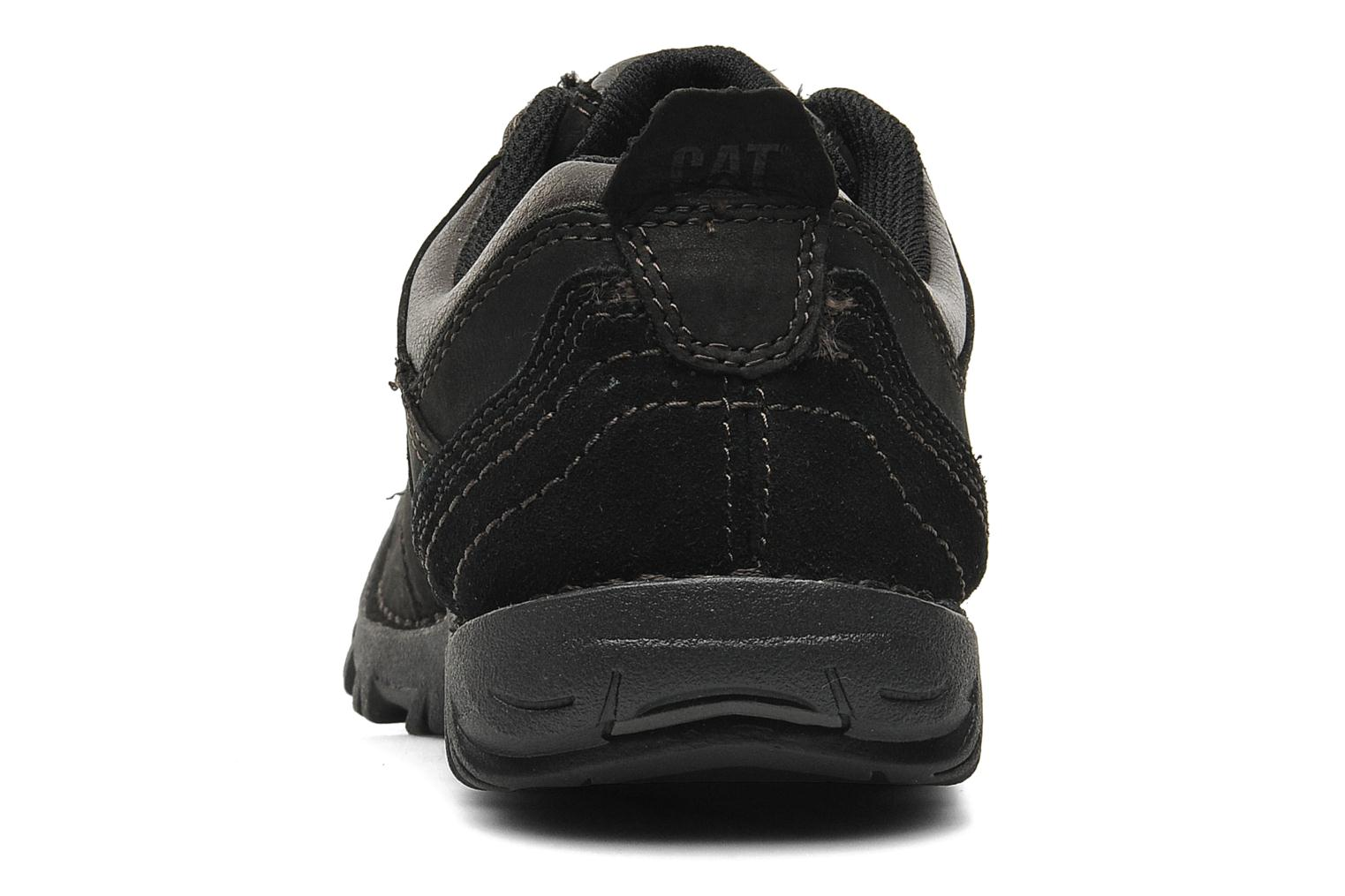 Lace-up shoes Caterpillar Emerge Black view from the right