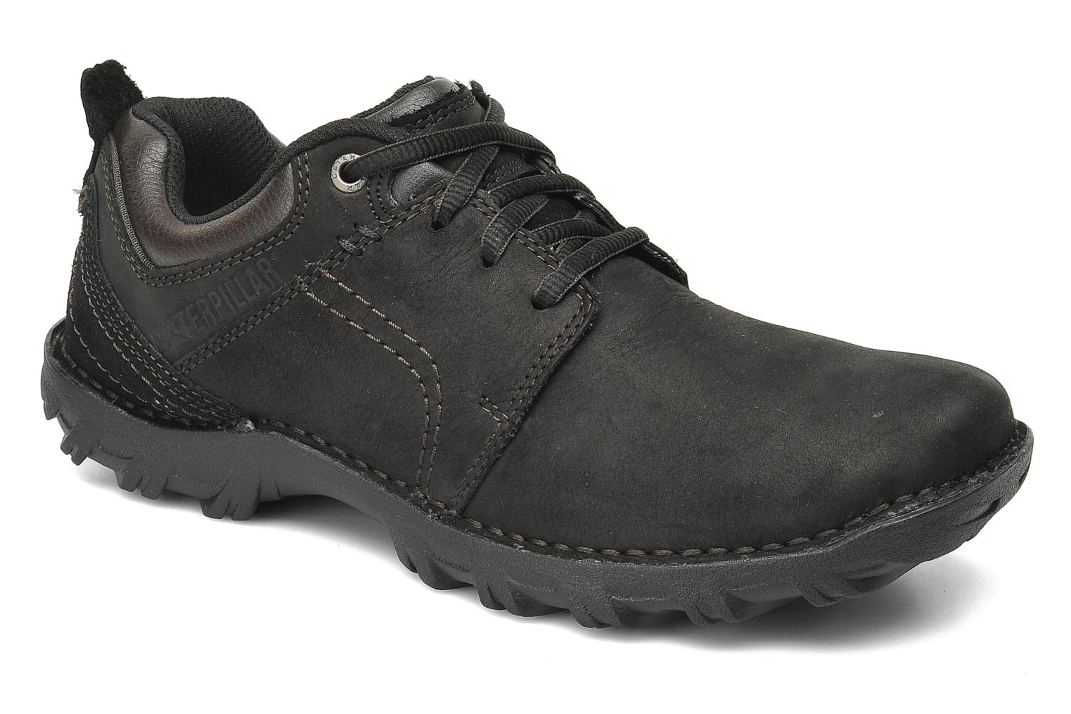 Lace-up shoes Caterpillar Emerge Black detailed view/ Pair view