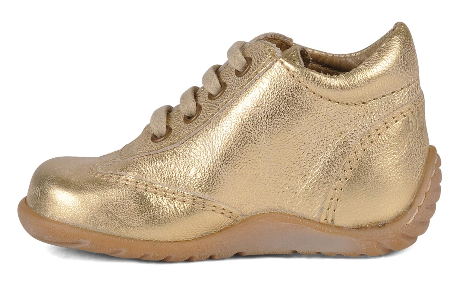 Ankle boots Bisgaard Acérola Bronze and Gold front view