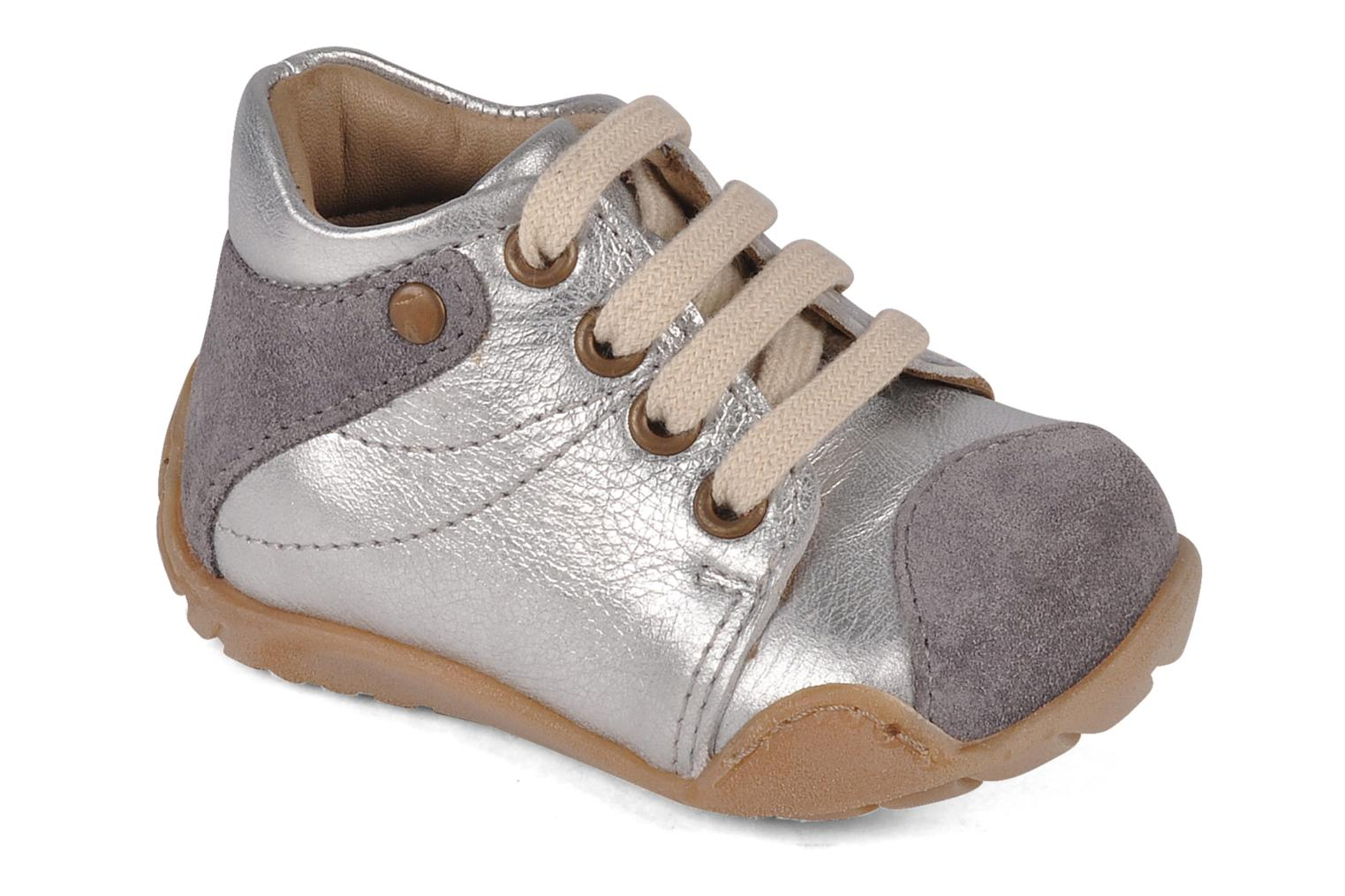 Ankle boots Bisgaard Feijoa Silver detailed view/ Pair view