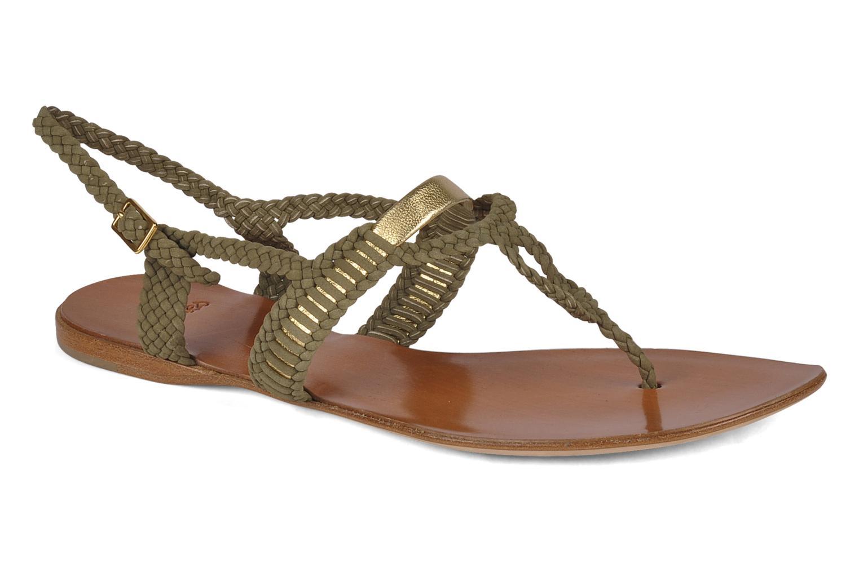 Sandals Maloles Liya Green detailed view/ Pair view