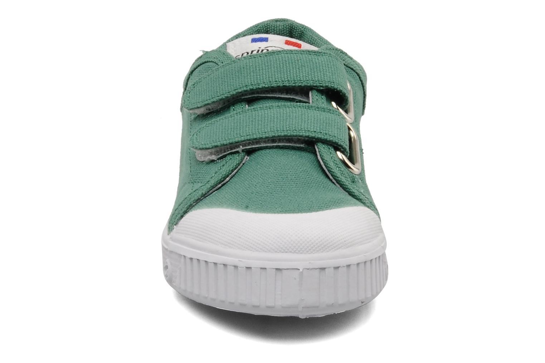 Baskets Spring Court Ge1 pad velcro Vert vue portées chaussures